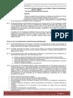 Reglamento evaluacion 2013