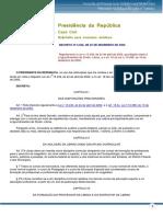 Leis - Decreto Nº 5.626 de 22 de Dezembro de 2005 - Dispõe Sobre a Língua Brasileira de Sinais - Libras