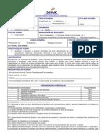 Plano de Curso Balconista de Farmácia 2014