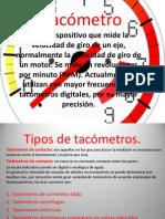 Tacómetro