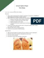 adv algebra 2 project - design a poster 1