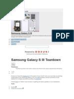 Samsung Galaxy S III Teardown