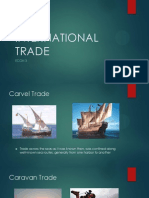 The Caravan and the Caravel Trade