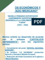 Modelos Económicos y El Estado Mexicano