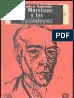 Astrada El Marxismo y Las Escatologias OCR