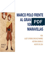Unidad 7 Marco Polo Frente Al Gran Khan - Caterine Sánchez Ramírez