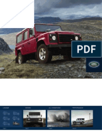 Land Rover Defender Brochoure