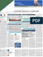 Clase Ejecutiva 04 - Columna El Mercurio - Precio y Costos, G.lagos