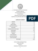 Reporte No. 1 (Quimica Del Carbono)