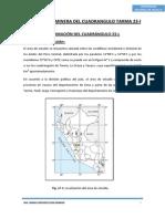 Prospeccion Minera Del Cuadrangulo Tarma 23