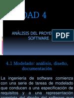 Unidad 4 - Análisis del proyecto del software