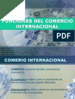 Funciones Del Comercio Internacional