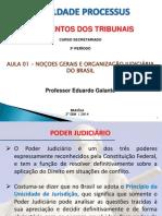 Aula 1 - Noções Regimento Tribunais - Gerais