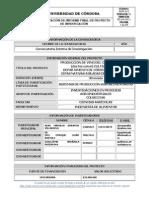 Informe Final FCA 04-05 Alba Durango Villadiego- Corozo