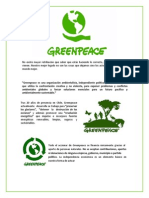 Carta Informativa Greenpeace LEGO Sin Shell