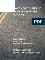 2002 Pavement Surface Condition Rating Manual V2