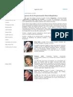 Historia y Orígenes de La PNL