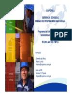 Educacion Ambiental 3Rs de Papel