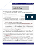 IGP CSAT Paper 1 Indian Polity Citizenship