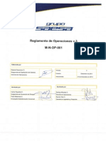 Reglamento de Operaciones (Completo)