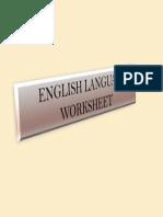 English Language y4 Worksheet