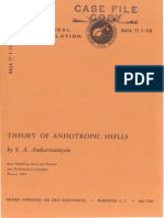 Theory of Anisotropic Shells