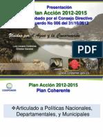 Presentacion Plan Accion 2012-2015 Corponor