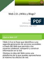 Web 20 Salamanca