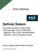 Sistem Operasi 1