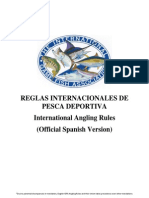 IGFA International Angling Rules_Spanish