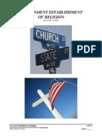 Government Established Religion