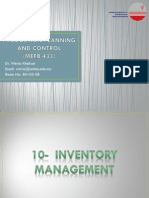 10 - Inventory Management #