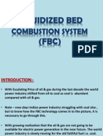 Fluidized Bed Combustion System (Fbc)