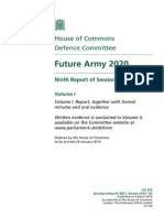 Future Army 2020 - UK