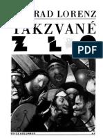Konrad Lorenz - Takzvané Zlo