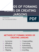 Methods of Forming Words or Creating Jargons2