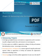 Chapter 19 - Outsourcing in the 21st Century