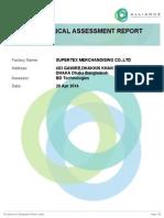 Supertex Merchandising Co.,Ltd 9566 Alliance Audit Report Ear 4508 April...