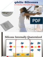 Hydrophilic silicones---Revolutionary  Technology for preventing Economic Damage of Textiles