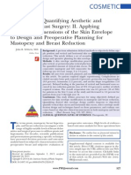A Process for Quantifying Aesthetic and Functional Breast Surgery- II. Applying Quantified Dimensions of the Skin Envelope to Design and Preoperative Planning for Mastopexy and Breast Reduction