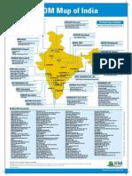 IESA Electronics Map of India