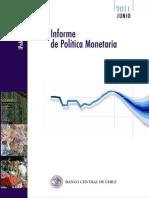 Informe de Politica Monetaria 062011