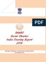 SAARC Social Charter India Report2014 26aug14