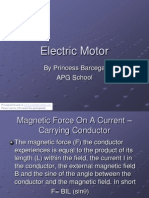 Electric Motor by Manu