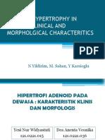 Hipertrofi Adenoid Pada Dewasa Karakteristik Klinis Dan Morfologis