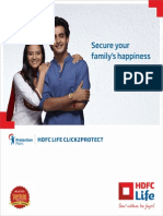 Hdfclife Click 2 Protect Plan Brochure