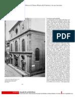 La Fabbrica Di Santa Maria Dell'Anima e La Sua Facciata