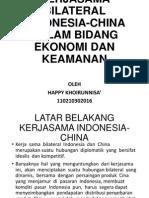 Hubungan Indonesia Cchina