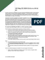 InstallingAutoCADMap3D200932bitona64bitOperatingSystem