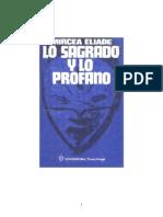 Eliade, Mircea - Lo Sagrado y Lo Profano